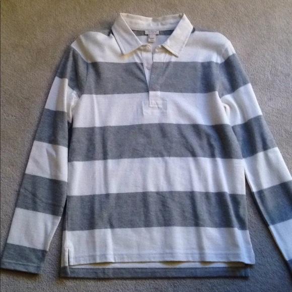 J. Crew Factory Tops - J. Crew Striped Shirt